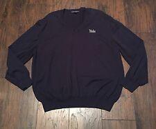Yale university Port Authority Sweater Size 2XL