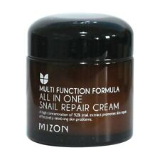 MIZON All In One Snail Repair Cream Facial Face Skin Care Whitening 92% Extract
