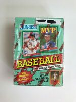 1991 DONRUSS BASEBALL SERIES II WAX PACK BOX-FACTORY SEALED