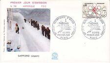 Enveloppe 1er jour FDC n°788 - 1972 : Japon Jeux Olympiques d'Hiver Sapporo