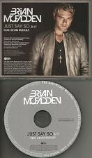 Westlife BRIAN McFADDEN Just say so 2010 USA PROMO Radio DJ CD single MINT