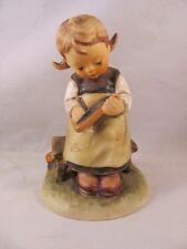 Vintage Hummel Goebel Figurine Busy Student ABCs Board Girl 367 TMK 4 4.25 in