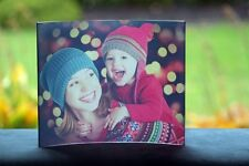 """Curved Clear Acrylic Photo Panel 8″ x 10"""" - Personalized With Your Own Image"""
