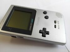 Nintendo Gameboy Light silver color console /Backlight OK/work well-L1-