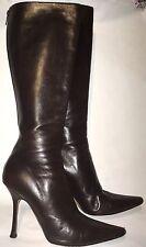 Elegant Genuine Jimmy Choo 39.5 6.5 Knee High Boots