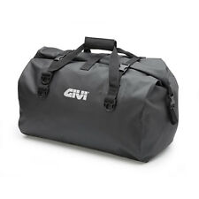 GIVI BORSA NERA da SELLA WATERPROOF 60L CINGHIE per MOTO NAKED - CARENATE