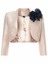 Polyester Cropped Formal Plus Size Coats & Jackets for Women