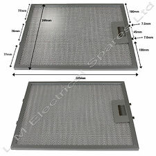 2 x 320 x 260mm Metal Cooker Hood Extractor Fan Vent Filters For Cooke & Lewis