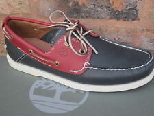 Timberland Men's 100% Leather Deck Casual Shoes