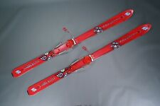 K2 WORK STINX 2005 174cm TELEMARK SKIS W/ TARGA G3 BINDINGS, RED ~ L@@K!!
