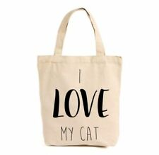 Cotton Cat Tote Handbags