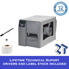 Zebra S4M 203 DPI Thermal Transfer Label Printer With USB & Ethernet