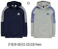 NEW ADIDAS JUNIOR BOYS KIDS HOODY 3S LOGO OTH HOODIE HOODED TOP SM MB LB XLB