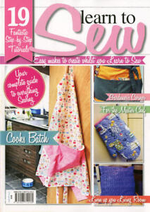 Learn to Sew Today! - Easy makes to create whilst you learn to Sew! Sewing Book