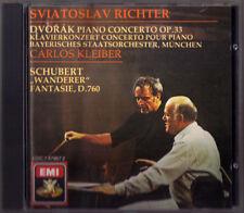 Sviatoslav Richter & Carlos Kleiber: Dvorak piano concerto Schubert escursionisti CD