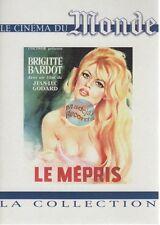 Collection Le Monde DVD Le Mepris brigitte bardot jean luc godard
