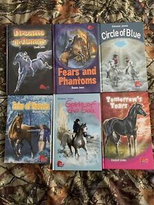 Eleanor Jones Books from Pony Club, 6 Books, Hardcover and Paperback