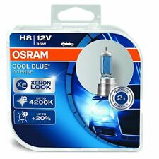 OSRAM H8 Cool Blue Intense 12V 35W Xenon Look Headlight Bulbs 64212CBI-HCB Set
