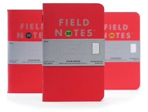 Field Notes Quarterly Edition: Fifty - Ruled 3 Pack Memo Book