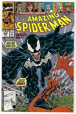 Amazing Spider-Man Vol 1 # 332 Marvel 1990 Signed By David Michelini