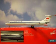 Herpa Wings 1:500 Ilyushin IL - 62M Aeroflot CCCP-86502 530842 Modellairport500