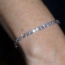 Clear Rhinestone Bracelet