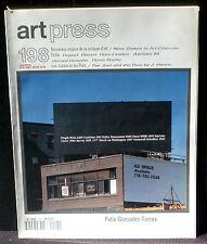 Art Press 198  : Genette Denis Roche Gonzalez-Torres Duprat Derain