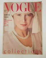 Vogue Magazine March 1st 1975 Vintage Vogue Magazine