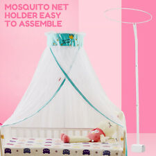 Mosquito Net Holder Accessories Baby Bed Cot Netting Canopy Drape Stand Crib Set