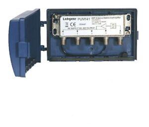Labgear PUM141 4 Way TV Signal Masthead Amplifier