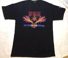 Harley Davidson Mens Large Black T-Shirt Short Sleeve New Orleans Vintage GUC