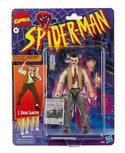 "HASBRO MARVEL LEGENDS SPIDER-MAN RETRO J. JONAH JAMESON 6"" ACTION FIGURE"