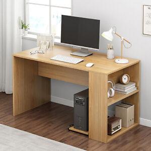 Home Computer Desk Writing Study PC Table Office Workstation Shelf 120CM Wide UK