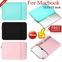 Laptop Sleeve Case Carry Bag Notebook For Macbook Air/Pro/Retina 11/13/15 LOT DA
