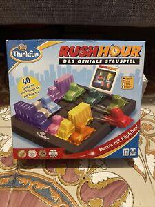 ThinkFun 76301 Rush Hour, Logik- und Strategiespiel, für Kinder und Erwachsene