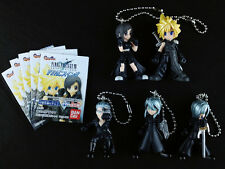Final Fantasy VII 7 Advent Children Swing Figure Key Chain Complete set of 5