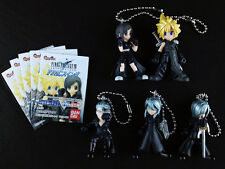 Final Fantasy VII 7 Advent Children Swing Figure Key Chain Complete set of 5
