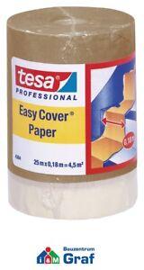 Tesa 4364 Premium Malerkrepp con Carta 25 M x 0,18 M =4,5 M² /# 870771