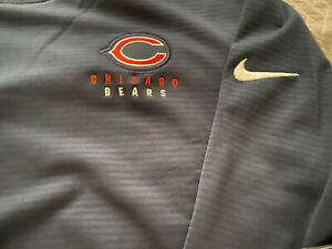 Chicago Bears Sweatshirt Nike Official Onfield Gear (Medium) Retails For $85.