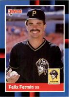 1988 Felix Fermin Donruss Baseball Card #144