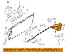 Infiniti NISSAN OEM 05-07 G35 Front Door-Lock Latch Kit 80500AC80A