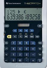 2x Texas Instruments ti-ec7pro+ Plus/calculadora rápida