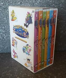 I CARTONI DELLO ZECCHINO D'ORO 6 DVD CON BOX COMPLETO