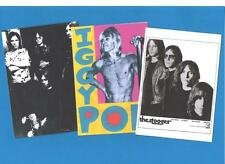 3 IGGY POP POSTCARDS. The Stooges.