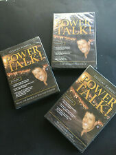 Anthony Robbins Power Talk (NEW/SEALED) DVD SET OF 3 DVDS RESOURCES TRANSFORMATI