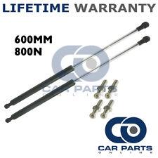 2X Muelles de gas puntales Universal Kit de coche o de conversión 600 mm 60 cm 800N & 4 Pines