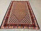 Traditional Turkish Kilim Rug shabby vintage wool Boho Kelim 158x96 cm Medium