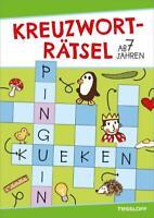Kreuzworträtsel ab 7 Jahren | Taschenbuch | Rätsel, Spaß, Spiele | Deutsch