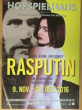 RASPUTIN 2016 MÜNCHEN THEATER   - orig. Poster -- Plakat  A1 NEU