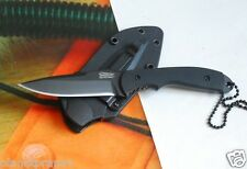 TIMBERLINE Blade Black Plain ABS Sheath Outdoor Portable Fixed Blade Knife